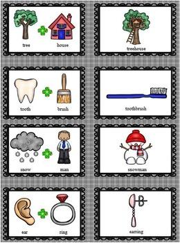 GRAMMAR TASK CARDS Compound Words