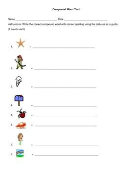Compound Word Test