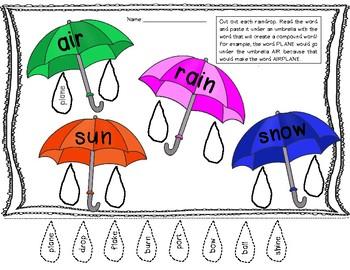 Compound Word Umbrellas