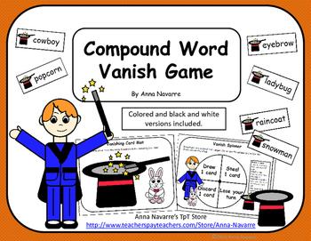 Compound Word Vanish Game