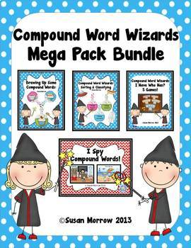 Compound Words Bundle - Huge!