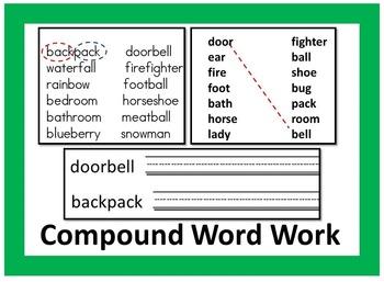 Compound Word Work