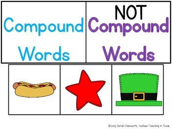 Compound Word Work Activities