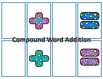 Compound Word Work Match Game
