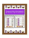 Compound Word Worksheet- Add picture make compound word