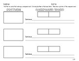 Compound Word Worksheet- Perfect for centers!