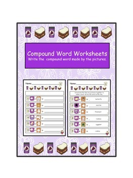 Compound Word Worksheets