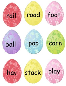 Compound Word Easter Eggs