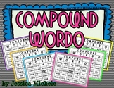 Compound Wordo {Compound Word Bingo Games}