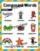 Compound Words Cut and Paste Worksheets, Posters and Task Cards