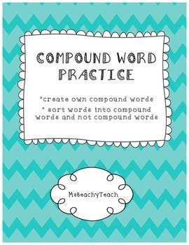 Compound Words {create a list and sort}