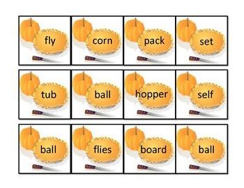 Compound Words #1: File Folder Activity
