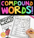 Compound Words Bundle with Color Posters, Worksheets & Answer Keys