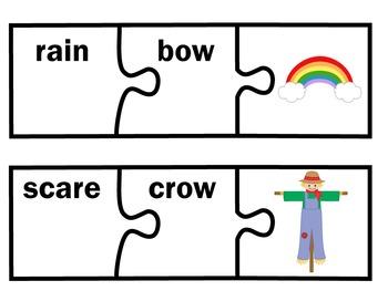 Compound Words Activities | Compound Words Center | Compound Words Puzzles