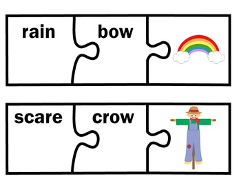 Compound Words First Grade | Compound Words for Grade One | Puzzles