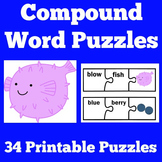Compound Words Game Activity