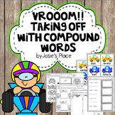 Compound Words Race Car Theme