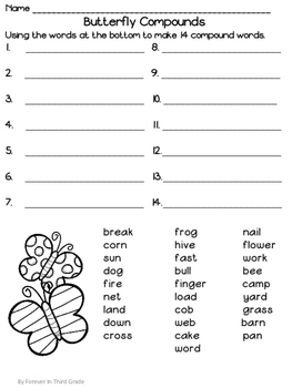 Compound Words Center