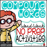 Compound Words Word Work
