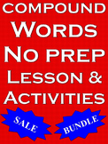 Compound Words Compound Words Worksheets Compound Activities Bundle