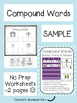Compound Words - 2 FREEBIE Pages