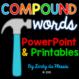 Compound Words PowerPoint and Worksheets