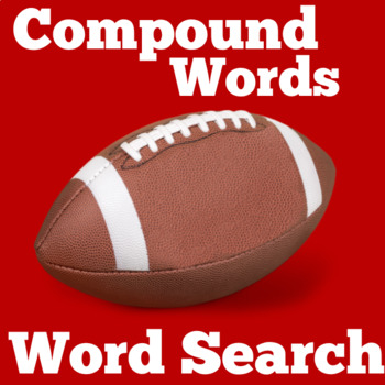 Compound Words Activity | Compound Words Word Search
