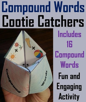 Compound Words Activity (Vocabulary Practice) 2nd, 3rd, 4th Grade