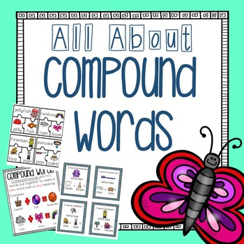 Compound Words {Activities, Centers & Worksheets}