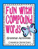 Compound Words Grammar Activities