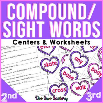Compound Words {1st - 3rd Grades}