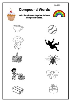 Compound Words - 3 Practice Activity Sheets