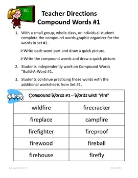 Compound words for grade 3 | K5 Learning