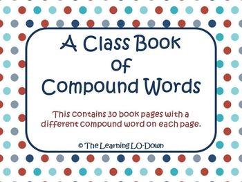 Compound Words: A Class Book