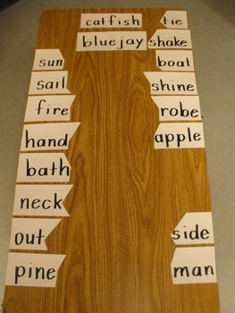 Compound Words - A Powerful Hands-On Literacy Station