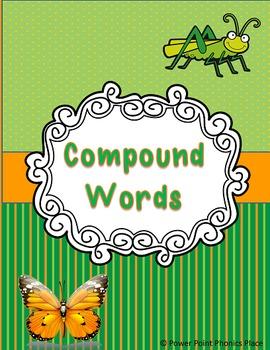 Compound Words - Activities