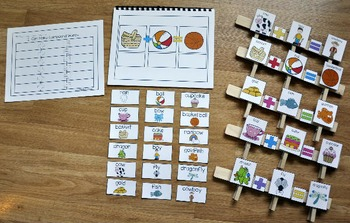 "Compound Words Activities-""Compound Words Book 1"""