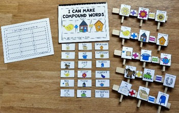 "Compound Words Activities-""Compound Words Book 2"""