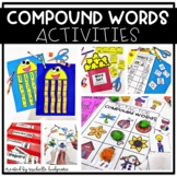 Compound Words Activities Kindergarten, First Grade, Second Grade