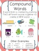 Compound Words Activity Bundle