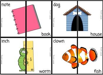 Compound Words - Activity (Common Core Aligned L.2.4.D)