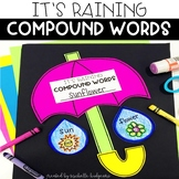 Compound Words Activity: It's Raining Compound Words Craftivity