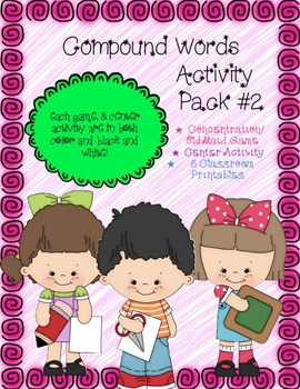 Compound Words Activity Pack #2