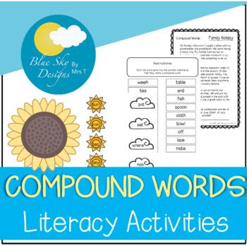 Compound Words Activity Set