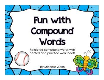 Compound Words Centers