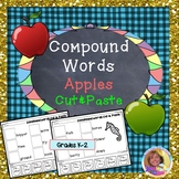 Compound Words: Apples Cut & Paste