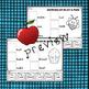 Compound Words: Apples Cut & Paste
