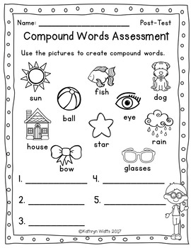 Compound Words Assessment