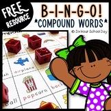 Compound Words BINGO Game - FREE