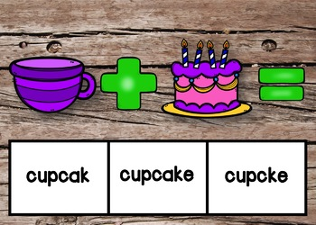 Compound Words Boom Cards